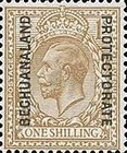 [Great Britain Postage Stamps Issue of 1912-1913 Overprinted, type AG8]