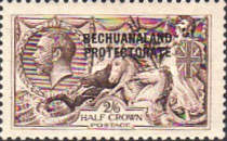 [Great Britain Postage Stamps Overprinted, Typ AH]