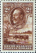 [King George V and Landscape, Typ AL2]