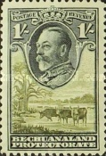 [King George V and Landscape, Typ AL6]