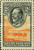 [King George V and Landscape, Typ AL7]