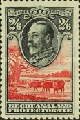 [King George V and Landscape, Typ AL8]