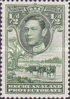 [King George VI and Landscape, Typ AO]