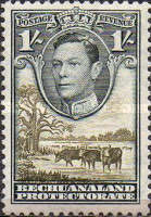 [King George VI and Landscape, Typ AO10]