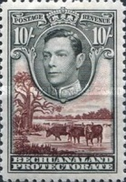 [King George VI and Landscape, Typ AO13]