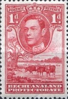 [King George VI and Landscape, Typ AO2]