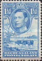 [King George VI and Landscape, Typ AO4]