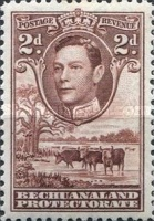 [King George VI and Landscape, Typ AO5]