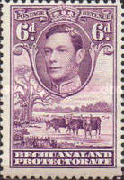 [King George VI and Landscape, Typ AO9]