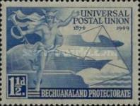 [The 75th Anniversary of the Universal Postal Union (UPU), Typ AY]