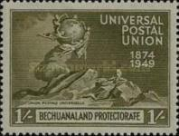 [The 75th Anniversary of the Universal Postal Union (UPU), Typ BB]