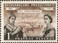 [The 75th Anniversary of Bechuanaland Protectorate, Typ BF]