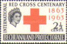 [The 100th Anniversary of the International Red Cross, type BX]