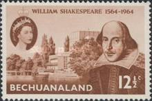 [The 400th Anniversary of the Birth of William Shakespeare(1564-1616), Typ BZ]