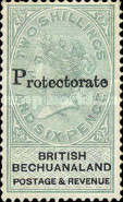 "[British Bechuanaland Stamps Overprinted ""PROTECTORATE"", type I2]"