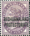 "[Great Britain Postage Stamps Overprinted ""BECHUANALAND - PROTECTORATE"", type X]"