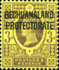 "[Great Britain Postage Stamps Overprinted ""BECHUANALAND - PROTECTORATE"", type Z]"