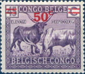 [Stamps of 1925-1928 Surcharged, Typ BE2]