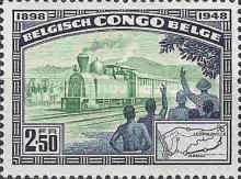 [The 50th Anniversary of the Matadi-Leopoldville Railway, Typ DY]