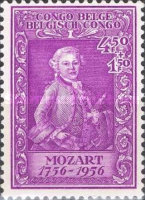 [The 200th Anniversary of the Birth of Wolfgang Amadeus Mozart(1756-1791), Typ FN]
