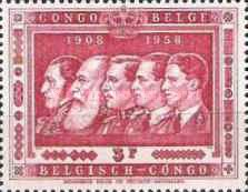 [The 50th Anniversary of the Belgian Colony Congo, Typ FS2]