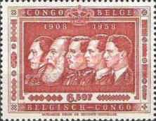 [The 50th Anniversary of the Belgian Colony Congo, Typ FS4]