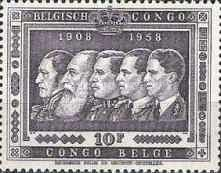 [The 50th Anniversary of the Belgian Colony Congo, Typ FS5]