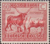 [Definitive Issues: Congo, Typ XBE1]