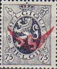 [Overprinted Coat of Arms Stamps, type A13]