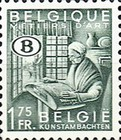 [Postage Stamps with B in Oval, Typ E1]