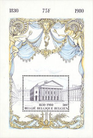 [The 150th Anniversary of Belgium Independence, Typ ]