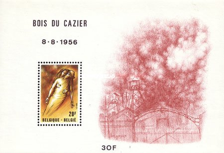 [In Memorial of the Coal Mine Accident at Bois du Cazier, Typ ]