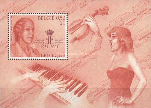 [Music and Literature - The 50th Anniversary of the Queen Elizabeth Music Contest, Typ ]