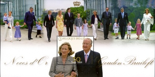[Golden Wedding Anniversary of the Royal Couple, Typ ]