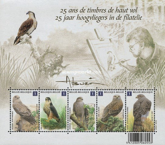 [The 25th Anniversary of Philatelic Highlights - Buzin's Birds, type ]