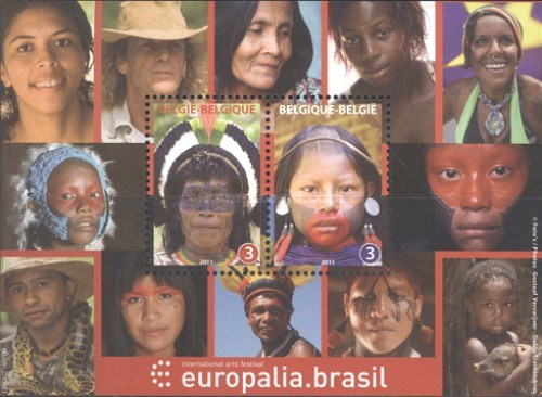[European Cultural Festival EUROPALIA 2011 BRAZIL, Brussels - Joint Issue with Brazil, Typ ]