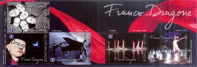 [The 60th Anniversary of the Birth of Franco Dragone - Self Adhesive Stamps, Typ ]