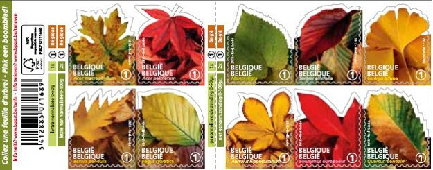 [Flora - Leafs. Self Adhesive Stamps, Typ ]