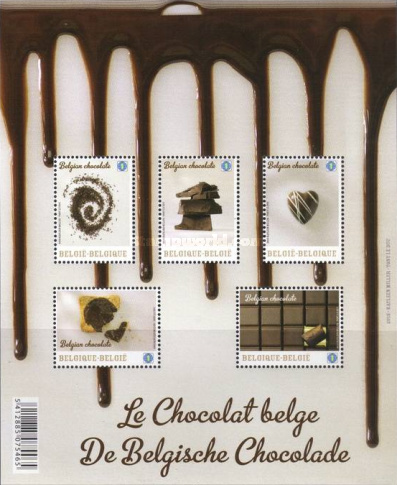 [Chocolate Postage Stamps, Typ ]