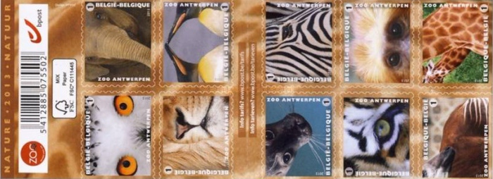 [Animals - Self Adhesive Stamps, Typ ]