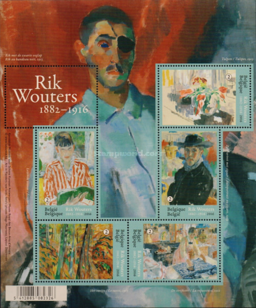 [Paintings - The 100th Anniversary of the Death of Rik Wouters, 1882-1916, Typ ]
