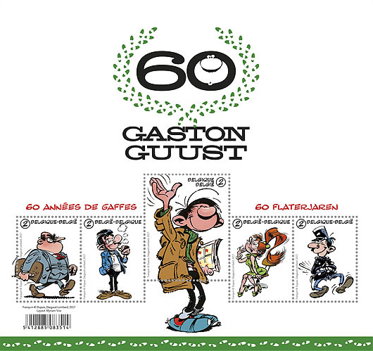 [The 60th Anniversary of the Gaston Comic Strip, Typ ]
