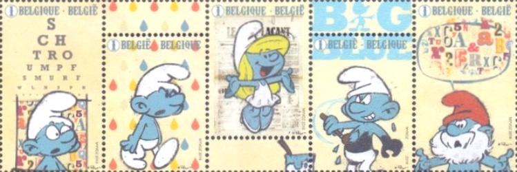 [Comics - The 60th Anniversary of the Smurfs (1958-2018), Typ ]