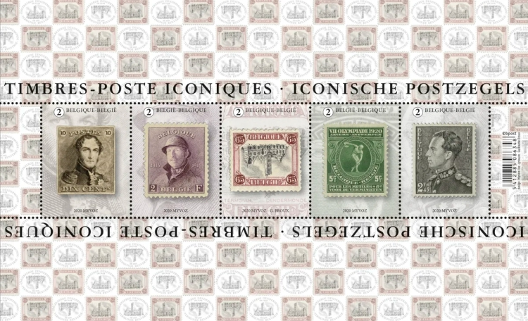 [Iconic Belgian Stamps, type ]