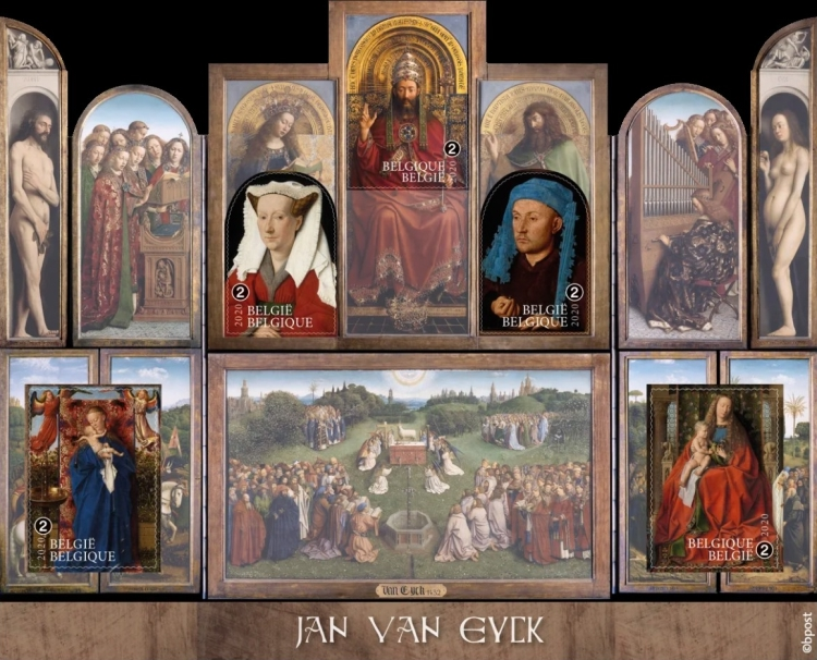 [Paintings - Jan van Eyck, 1390-1441, type ]