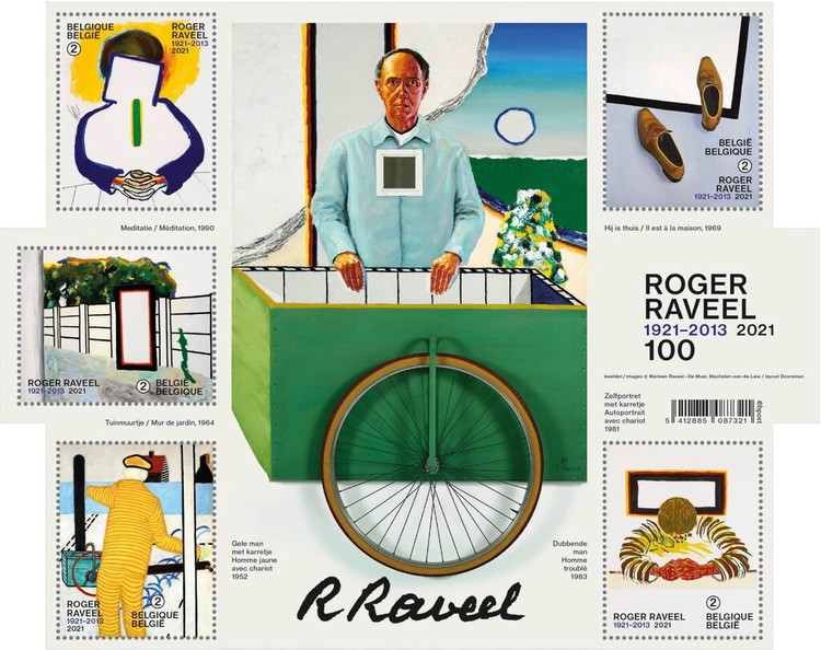 [The 100th Anniversary of the Birth of Roger Raveel, 1921-2013, Typ ]
