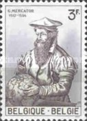 [The 450th anniversary of the birth of the cartographer G.Mercator, Typ AAO]