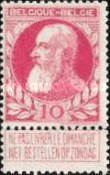 [King Leopold II. New issue, Typ AG]