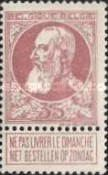 [King Leopold II. New issue, Typ AJ]
