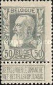[King Leopold II. New issue, Typ AK]
